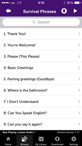 Innovative Language 101 for iPhone and iPad